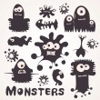 Monsters — Stock Vector #18548061