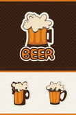 Beer vector — Stock Vector