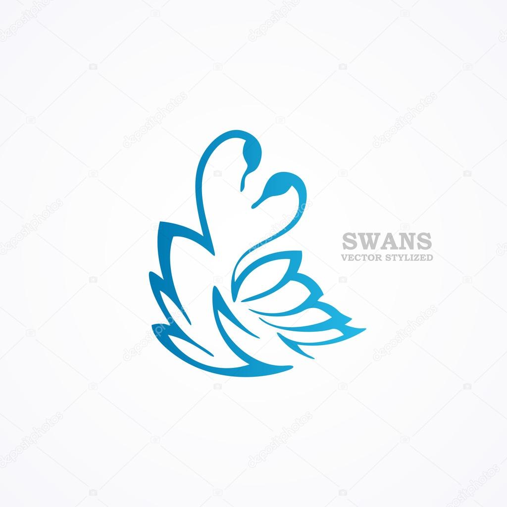Эскизы тату с лебедями