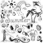 Summer set. — Stock Photo