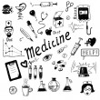 IIlustration Medicine icons — Stock Photo