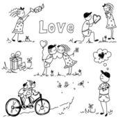 Éléments de la Saint-Valentin — Photo
