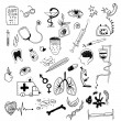 Illustration Medicine icons — Stock Photo