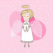 "Illustration of the ""white angel"" — Foto Stock"