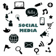 Social Media Icons — Stock Photo #49572965