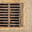 Sewer grill — Stock Photo #18394437