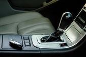Modern car interior — Stock Photo