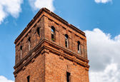 Abandoned brick tower — Stock Photo