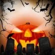 Halloween scary poster - Stock Photo