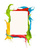 Colored frame — Stock Photo