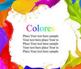 Colored design — Stock Photo