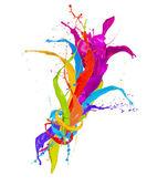 Salpicaduras de colores — Foto de Stock