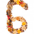 Christmas number — Stock Photo