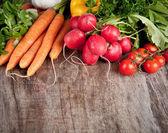 Frischem gemüse — Stockfoto