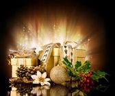 Vánoční dárky — Stock fotografie
