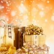 Christmas still life — Stock Photo #13978169