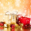 Christmas still life — Stock Photo #13978175