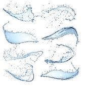 Salpicaduras de agua — Foto de Stock