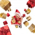 Santa girl — Stock Photo #14703729