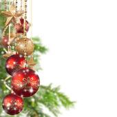クリスマスの背景 — ストック写真