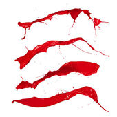 Red splashes — Stock Photo