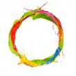 Colored ring — Stock Photo