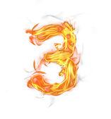 Brand nummer — Stockfoto