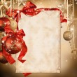 Christmas background — Stock Photo #15659757