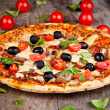 Fresh pizza — Stock Photo #15951597