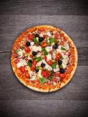 Pizza fresca — Foto Stock