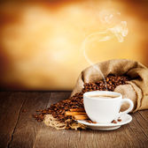 Coffee still life — Stockfoto