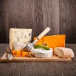 French cheeses — Stock Photo