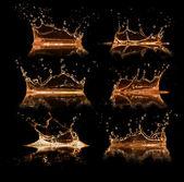 Salpicaduras de líquidos — Foto de Stock
