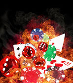 Poker concept — Stock Photo