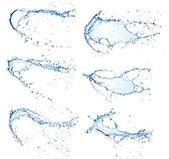 Vattenstänk — Stockfoto
