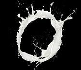 Milk splash — Stockfoto