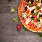 Italian pizza — Stock Photo #19080439