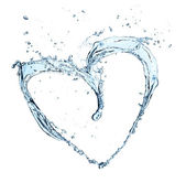 Water heart — Stock Photo