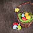 Easter basket — Stock Photo #19546311