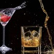 Alcohol drinks — Stock Photo