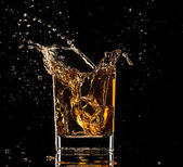 Whiskey drink — Stock Photo