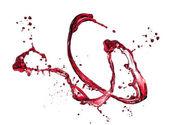 Wine splashes — Stock Photo