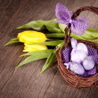 Foto Stock: Easter still life
