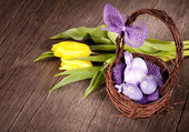 Easter still life — Foto Stock