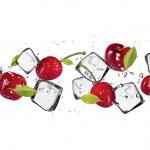 Ice fruit — Stock Photo