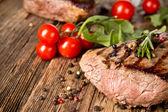 Bife de carne — Fotografia Stock