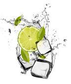 фруктовый лед — Стоковое фото