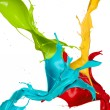Paint splashes — Stock Photo