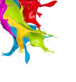 Färgstänk — Stockfoto