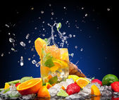 Fresh drink — 图库照片